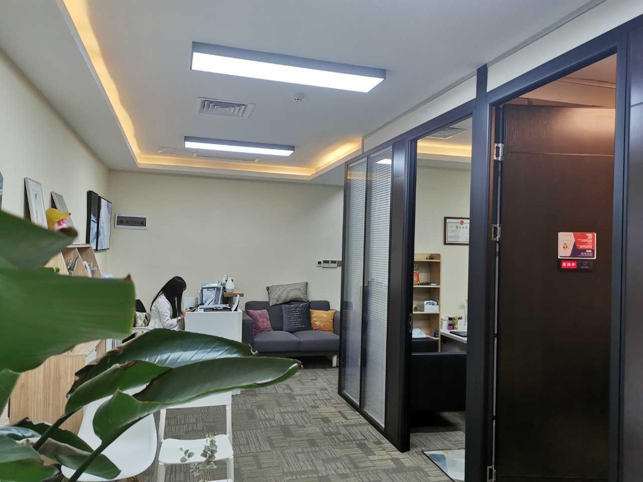 南山 田厦金牛广场 167平 小户型精装写字楼出租