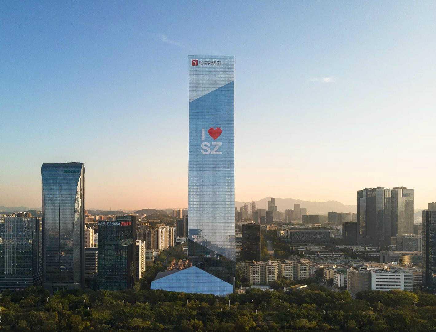 南山 MFG-汉京中心 143平 配进口家私 高档写字楼出租