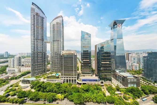 车公庙 东海国际中心A座 1856.43平 整层写字楼出租