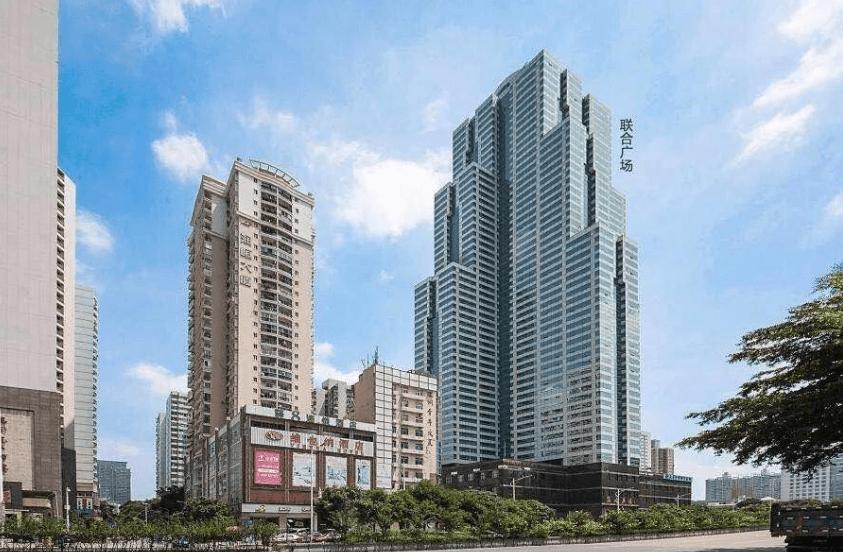 福田中心区 联合广场A座 整层2441.04平 超大面积精装写字楼出粗
