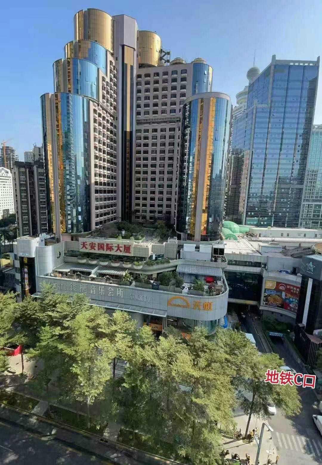 罗湖 天安国际大厦 153平 高档精装写字楼出租