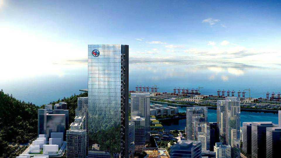 蛇口  办公室出租  赤湾总部大厦  1100平起