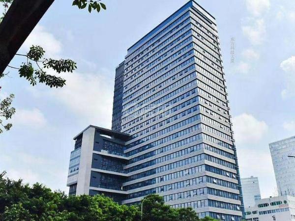 深圳南山科技园精装双面采光办公室