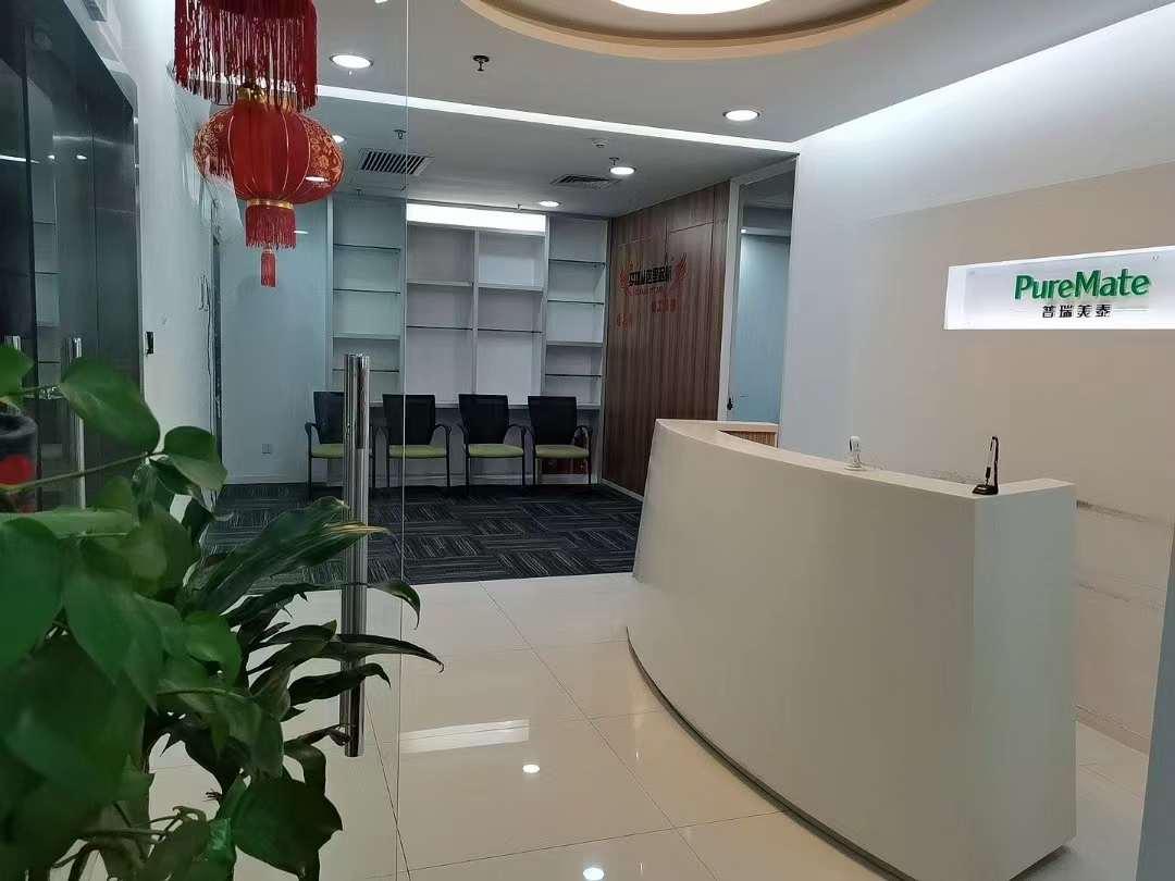 南山振业国际大厦一手业主直租307平精装修带全部办公家私电梯口双面采光搞使用率