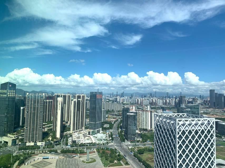 深圳宝安中心区前海人寿金融大厦新楼一手业主直租24小时空调