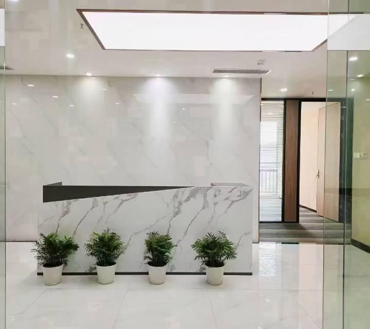 南山科技园比克科技大厦南向看荔香公园 可以办租赁凭证