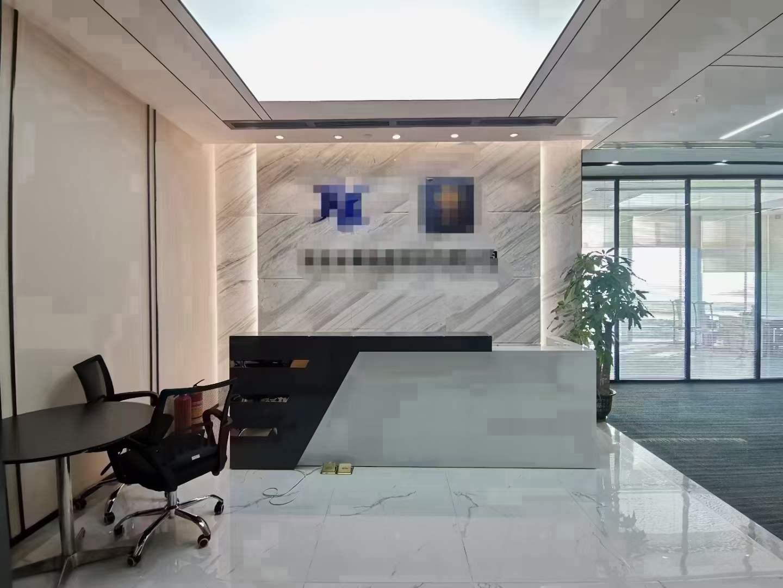 宝安中心 卓越时代广场精装418平 看海景 24小时空调 户型方正