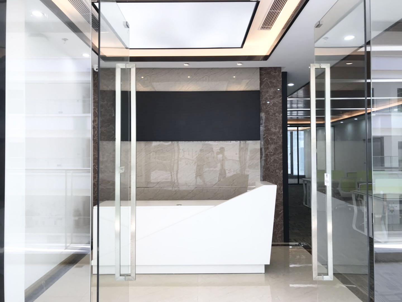 南山深圳湾科技生态园精装修411平电梯口双面采光24小时空调双地铁口